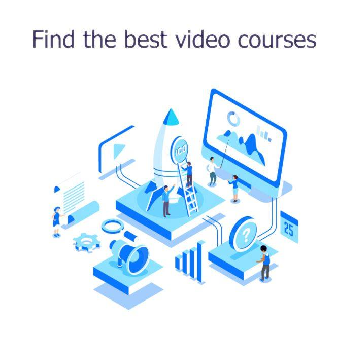 Find the best video courses